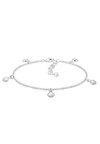 Elli Armband Damen Muschel Maritim Meer Sommer in 925 Sterling Silber