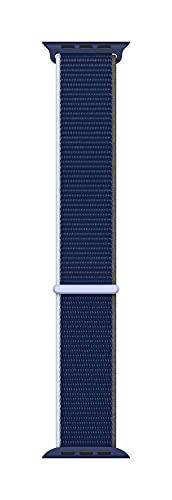 Apple Watch (44mm) Sport Loop, Tiefseeblau - Regular