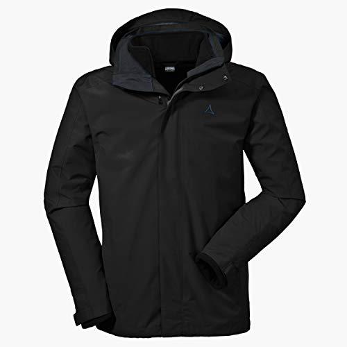 Schöffel Herren 3in1 Turin1 Jacke, black, 56