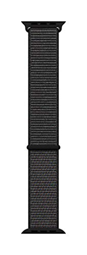Apple Watch (44mm) Sport Loop, schwarz - Regular