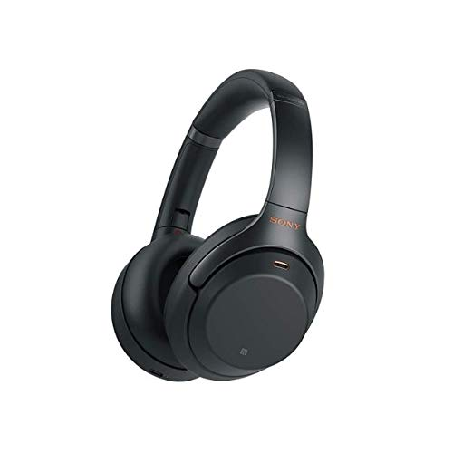 Sony WH-1000XM3 kabellose Bluetooth Noise Cancelling Kopfhörer (30h Akku, Touch Sensor, Headphones Connect App, Schnellladefunktion, Amazon Alexa, wireless) Schwarz