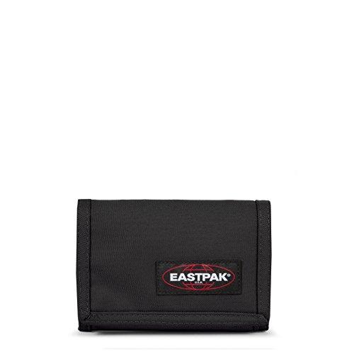 Eastpak Crew Single Geldbörse, Schwarz (Black), 9.5 cm x 13.5 cm