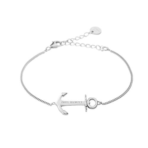 PAUL HEWITT Anker Armkette Anchor Spirit Plated - Armkette Damen Silber 925, Anker Armband Frauen