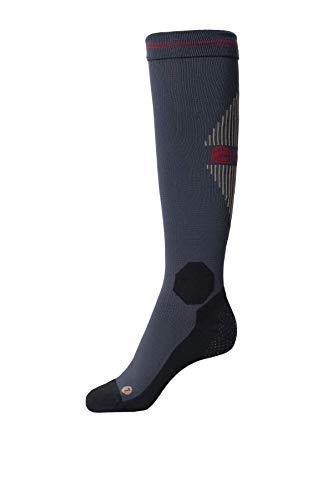 Cavallo Kniestrumpf Socks Grip Graphite Sportswear 2020, Größe:42