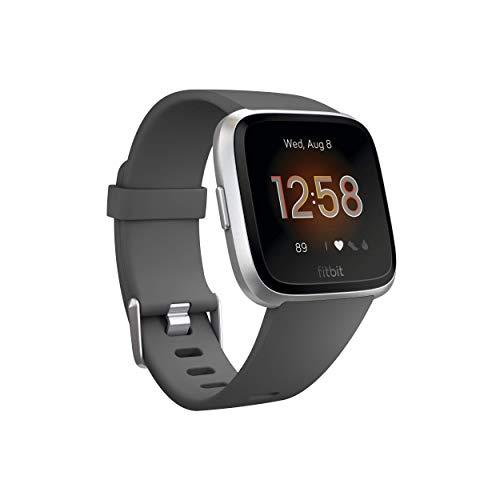 Fitbit Versa Smart Watch, Einheitsgröße (S & L Bands im Lieferumfang enthalten)