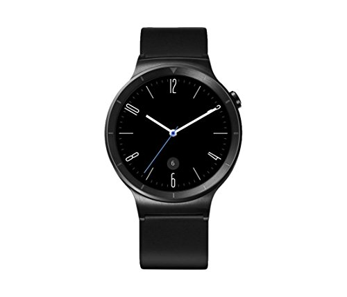 Huawei Watch Active mit Lederband in schwarz