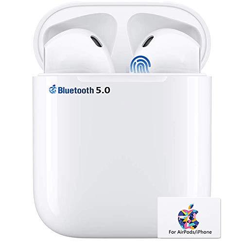 Bluetooth-Kopfhörer, Touch Control Bluetooth Headset,Geräuschisolierung,Noise-Cancelling-Kopfhörer,mit 24H Ladekästchen und Mikrofon für Apple AirPods/Android/iPhone/Apple AirPods Pro