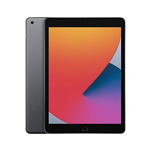 Neues Apple iPad (10,2', Wi-Fi, 128GB) - Space Grau (Neustes Modell, 8. Generation)