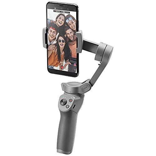 DJIOsmoMobile3 - Handgeführter Smartphone-Gimbal mit Stabilisierung auf 3Achsen für Vlogging, Youtuber, Live-Video und Handystabilisierung für iPhone und Android