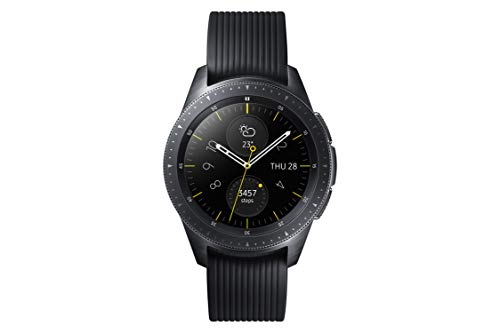 Samsung SM-R810NZKADBT Galaxy Watch 42 mm (Bluetooth), Schwarz
