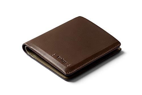 Bellroy Note Sleeve – Premium Edition - Darkwood (Schlanke Leder Brieftasche)