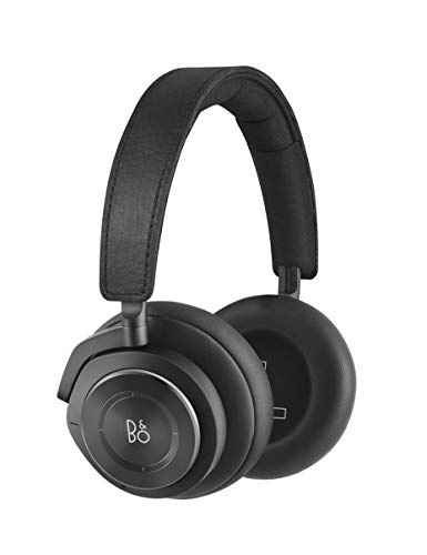 Bang & Olufsen Beoplay H9 3. Generation Kabelloser Bluetooth Over-Ear-Kopfhörer (Amazon Exklusive Edition) – Active Noise Cancellation, Transparenzmodus, Voice Assistant Unterstützung, Matte Black