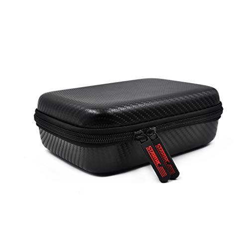 HSKB Reisetasche Aufbewahrungsbox Hard Case für DJI OSMO Mobile 3 Pocket Camera Große, tragbare Tasche Schutz Zubehör Stoßfest Wasserdicht (Schwarz)