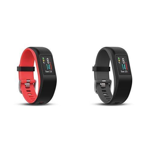 Garmin vívosport GPS-Fitness-Tracker, 24/7 Herzfrequenzmessung am Handgelenk, integriertes GPS & Garmin vívosport GPS-Fitness-Tracker, 24/7 Herzfrequenzmessung