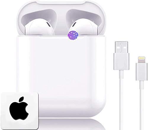 Bluetooth-Kopfhörer,Wireless 5.0 Bluetooth IPX7 wasserdichte Ohrhörer 3D-Surround-Sound-Kopfhörer Sportkopfhörer Integriertes Mikrofon In-Ear-Kopfhörer für Apple Airpods IOS Android
