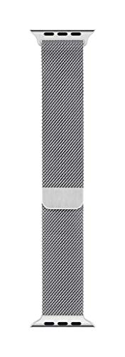 Apple Watch Milanese Loop Band (44mm), Silver