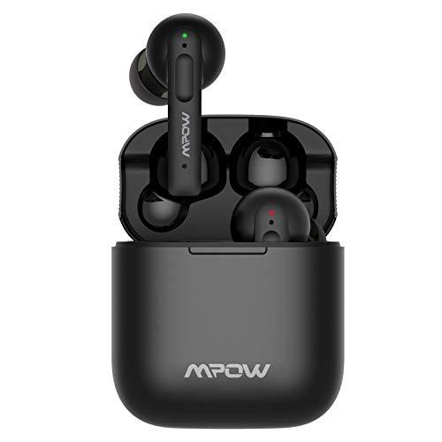 True Wireless Kopfhörer, Mpow X3 Bluetooth Kopfhörer Active Noise Cancelling, mit 4 Mikrofonen, ANC Kopfhörer in Ear mit tiefen Bässe, 30 Stunden Spielzeit kabellos Köpfhörer mit USB-C Aufladen
