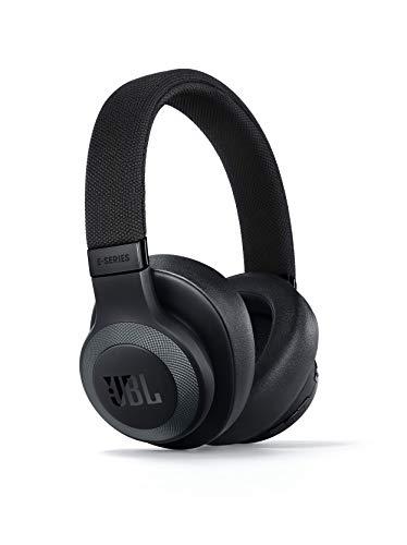 JBL E65BTNC Over Ear Bluetooth Kopfhörer matt - Active Noise Cancelling Headphones mit JBL Signature Sound - Musikgenuss für bis zu 24 Stunden Schwarz