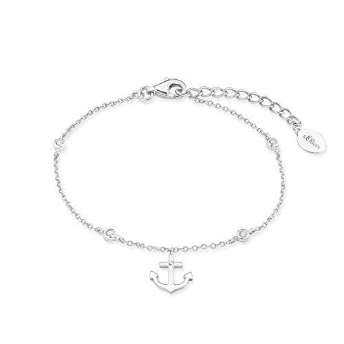 s.Oliver Armband für Damen 925er Sterling Silber rhodiniert