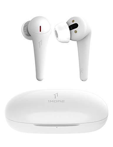 [2021CES]1MORE ComfoBuds Pro Bluetooth 5.0 Kopfhörer, Active Noise Cancelling Ohrhörer, Kopfhörer Kabellos mit aktiver Geräuschunterdrückung, 5 adaptiven Modi, 6 Mikrofonen, 28 Stunden Spielzeit Weiß