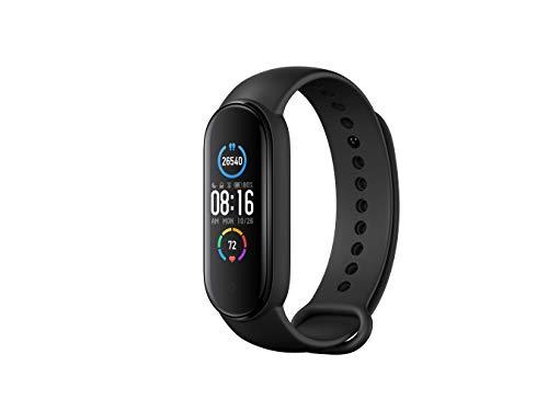 Xiaomi Mi Smart Band 5 Fitness- & Aktivitätstracker mit 1,1' Full AMOLED Touch Farb-Display