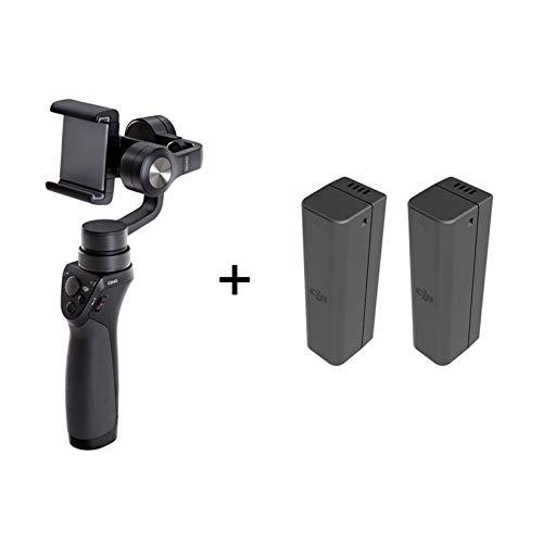 DJI Osmo Mobile 1 - 3-Achsen Bildstabilisator - Bildstabilisator für iPhone und Smartphone, Unterstützung für Smartphone, Zubehör für Foto- und Videoaufnahmen, 3 Achsen (kardanisch), 3 Batterien