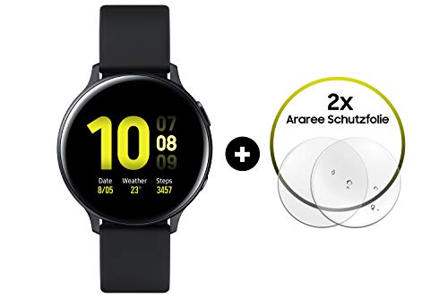 Samsung Galaxy Watch Active2 Aluminium 40 mm (Explorer Edition) schwarz