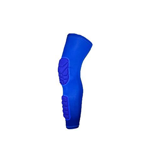 Cluster star Sports Knieschützer Großhandel Sport Kniepolster Größe Outdoor-Klettern Basketball Reitbedarf,Blau,L