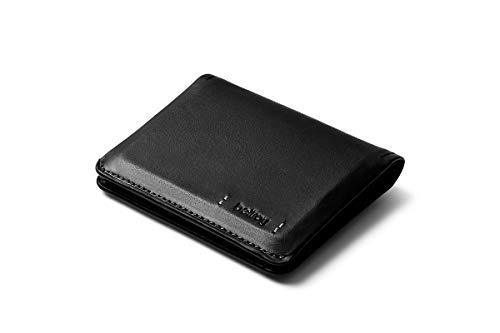 Bellroy Slim Sleeve – Premium Edition - Black (Schlanke Leder Brieftasche)
