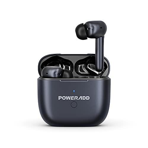 B10 Bluetooth Köpfhörer Active Noise Cancelling, kabellose Köpfhörer mit Mikrofon, Bluetooth 5.1 mit ANC Rauschunterdrückung, IPX7 Wassersdicht, Intelligente Berührung, 25 Std. Laufzeit