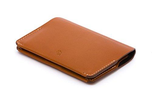 Bellroy Herren Leder Geldbörse Card Holder, Farbe: Caramel