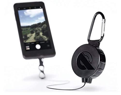 REELOQ Adventure Package, Patentierte universal Sturz- und Diebstahl Sicherung für Smartphone, mit Actioncam-Adapter, Must-Have Gadget für Abenteuer und Reisen