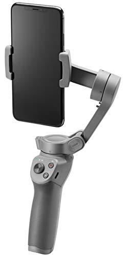 DJI Osmo Mobile 3, 3-Achsen-Smartphonestabilisator Kompatibel mit iPhone und Smartphone Android, Leichtes und tragbares Design, stabile Aufnahme, Intelligente Steuerung