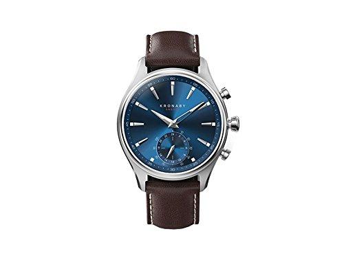 Kronaby sekel A1000-3120 Herren Quarz Uhren eine traditionelle Uhr mit Smartwatch Funktionalitäten 41 mm Gehäusedurchmesser Saphirglas 100 M wasserdicht