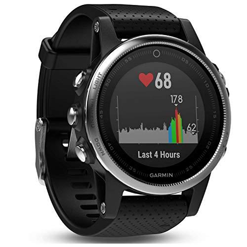 Garmin fēnix 5S Smartwatch Gps-multisportuhr, schwarz, S