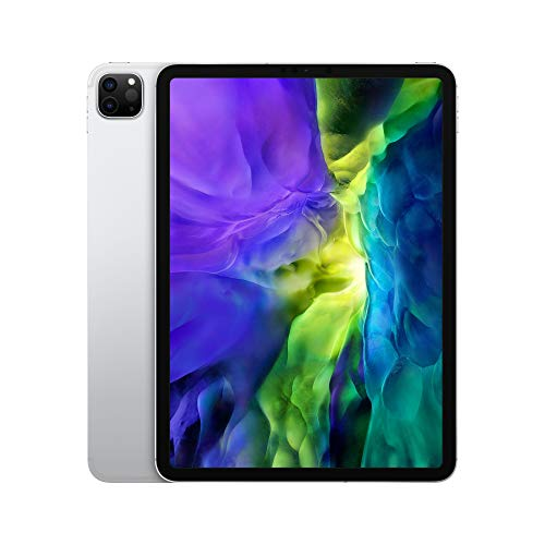 Neu Apple iPad Pro (11', Wi-Fi + Cellular, 256 GB) - Silber (2. Generation)
