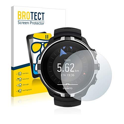 BROTECT Entspiegelungs-Panzerglasfolie kompatibel mit Suunto Spartan Sport Wrist HR Baro Stealth - Anti-Reflex Panzerglas Schutz-Folie Matt