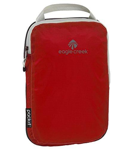 Eagle Creek Packtasche Pack-It Specter Compression Cube Small platzsparende Kofferorganizer für die Reise, 26 cm, 6 L, Volcano rot
