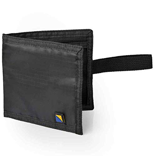 Travel Blue Geheime Einschub-Brieftasche Schwarz 701 Geldbörse