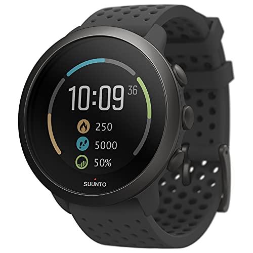 Suunto 3 GPS-Sportuhr mit Herzfrequenzmessung am Handgelenk, 24/7 Activity Tracker und Regenerationsüberwachung