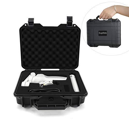 Supfoto Tragetasche für DJI OM4/OSMO Mobile 3, wasserdichte Hartschale für DJI Osmo Mobile 3/OM 4, wasserdichte Aufbewahrungsbox mit Schaumstoffeinsatz