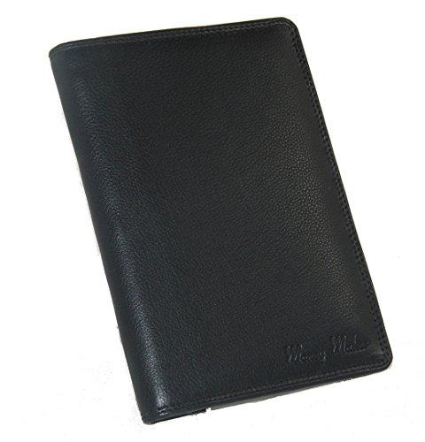 Money Maker Leder Brieftasche Ausweismappe Kartenetui 9030B