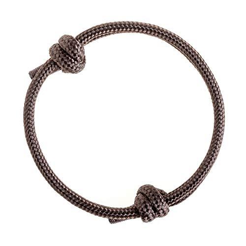 Wind Passion Geprüfte Qualität Nautic Maritim Geflochtene Armband für Mädchen, Kinder, Teenageralter