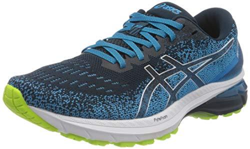 ASICS Herren GT-2000 9 Knit Road Running Shoe, French Blue/White, 46 EU