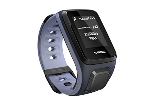 TomTom Sportuhr Runner 2 Musik GPS Uhr, blau/lila, S, 1REM.001.02