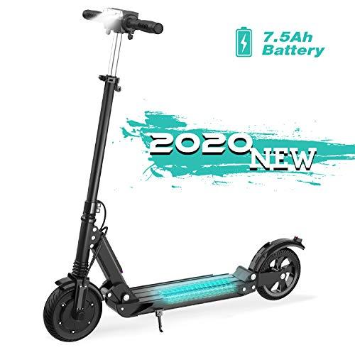 GeekMe Elektro Scooter E-Scooter Cityroller Bis zu 30 km/h Faltbarer Elektroroller mit LCD-Display 7.5A Li-Ion Akku Maximale Belastung 120 kg Für Erwachsene und Kinder