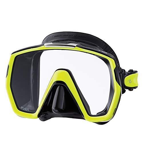 Tusa M1001Freedom HD Tauchermaske., schwarz / gelb