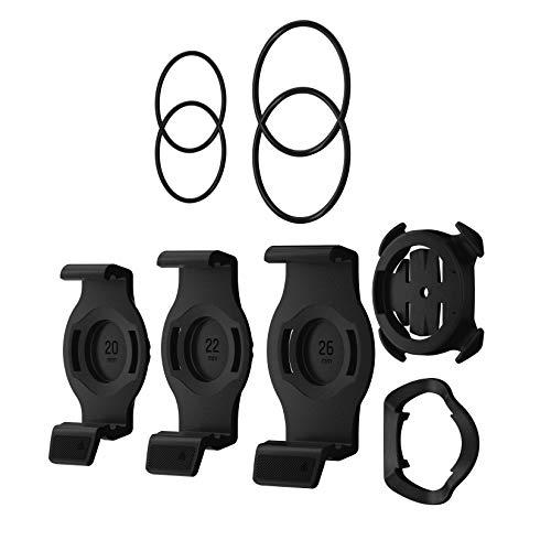 Garmin QuickFit Fahrradhalterung für Garmin fenix 6 Serie, quatix 6 Serie und tactix Delta Serie. Einfache und sichere Montagemöglichkeit für Ihre Smartwatch direkt am Lenker. Mit Adaptern in 3 Größen