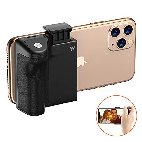 Cocoda Handheld Handy Stabilisator, Selfiestick mit Abnehmbarer Bluetooth Fernbedienung Auslöser für Stabil Fotografieren, Handy Stativ Adapter mit 1/4' Schraubengewinde für iPhone, Samsung und Mehr