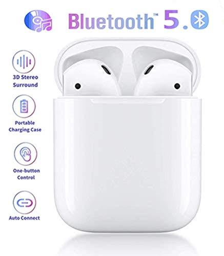 WDGP Bluetooth-Kopfhörer,In-Ear Kabellose Kopfhörerr,IPX5 Wasserdicht, Noise-Cancelling-Kopfhörer für immersiven Klang,mit 24H Ladekästchen und Mikrofon für Android/iPhone/Samsung/Apple AirPods Pro